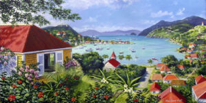 Gustavia-Harbour